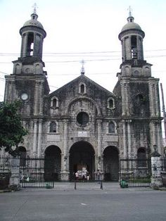San Sebastian Cathedral and Bishop's Palace in Bacolod