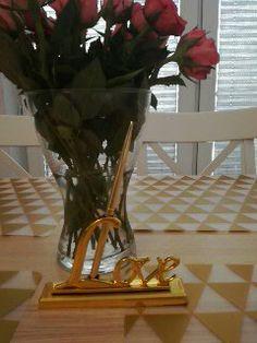 gold love weeding rose blush pink ikea