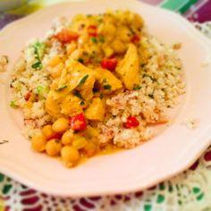 A legegészségesebb: Tejszínes csirke curry – Mediterrán ételek és egyéb finomságok…