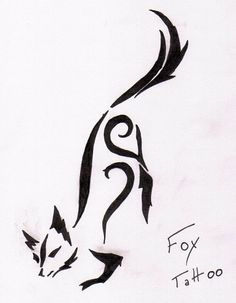 fox_tattoo_by_evillime.jpg 752×968 pixels