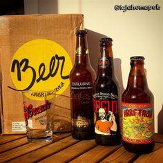 Fala pessoal chegou o meu Kit do mês de Agosto da @trezebeer!  ___ Pra quem ainda não conhece a @trezebeer  é mais uma boa opção de clube de assinatura de cervejas e tem as seguintes opções de Kits mensais:  Kit Louco: 2 Cervejas  1 Copo  Kit Irado: 3 cervejas  Kit Alucinado: 3 cervejas  1 Copo  Kit Insano: 4 cervejas Todos acompanham descanso de copo e descritivo da cerveja. ___ Trabalho bem bacana e para quem for seguidor da Laje basta entrar em contato com eles e utilizar o cupom…