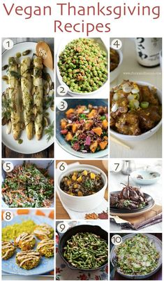 10 #Vegan #Thanksgiving Recipes