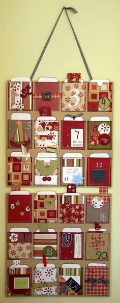 Адвент календарь (Advent ideas diy) своими руками