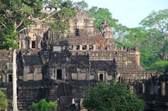 Baphuon Temple in Siem Reap, Cambodia. Part of a day's adventure near the Angkor Wat temple.