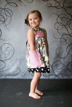 Girls Dress Pattern Sewing Pattern PDF Baby by pinkpoodlebows, $6.00