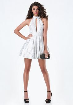 Marissa Jacquard Dress