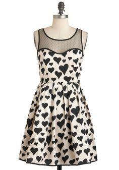 Heart Over Heels Dress, (L) ModCloth.com $67.99