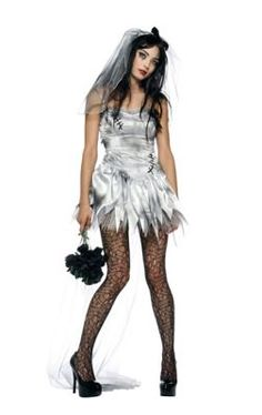 Adult Bride Zombie Costume - Spirithalloween.com. Costume DressWedding  Dress CostumeDoll ... 471e01f15a93