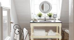 Waschtisch und Handtuchhalter Tamarin #Badezimmer #loberon