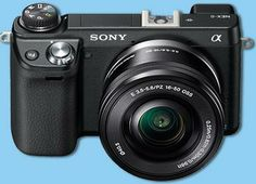 GOT IT! :)   --  Sony NEX-6L/B 16.1 MP Compact Interchangeable Lens Digital Camera with 16-50mm Power Zoom Lens and 3-Inch LED (Black