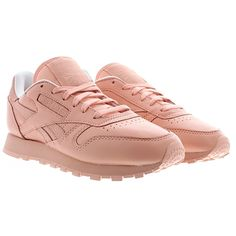 0ef1f6fc362c3 Reebok - Baskets Femme Classic Leather Spirit X Face Stockholm Saumon