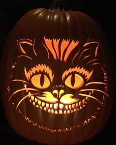 Cheshire Cat Pumpkin