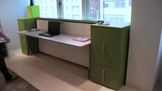 Single Wall Bed with Desk - Cabrio - Resource Furniture Murphy Bed Couch, Murphy Bed Plans, Space Saving Furniture, Bed Furniture, Furniture Design, Office Furniture, Furniture Ideas, Recamaras King Size, Modern Mens Bedroom