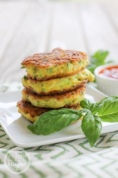 Grain & Gluten-Free Zucchini Fritters - Paleo Friendly