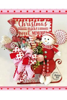 Sharing a Christmas centerpiece created by Dashing Door Decor. You can purchase it on her website! Shop Trendy Tree for Christmas decorations and wreath making supplies - work forms - mesh - ribbons - seasonal decor - florals and more! Old World Christmas Ornaments, Christmas Makes, Christmas Wreaths, Christmas Crafts, Christmas Ideas, Fall Wreaths, Christmas Wishes, Christmas Recipes, Merry Christmas