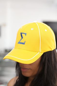 Sigma Lambda Gamma Chiseled Greek Sorority Line Hat