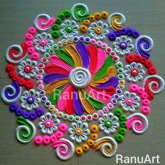 Rangoli Designs Images, Beautiful Rangoli Designs, Diwali Rangoli, Flower Rangoli, Colored Sand, Republic Day, Simple Rangoli, Cute Disney Wallpaper, Ceremony Decorations