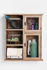 Reclaimed Wood Storage Unit - Urban Outfitters