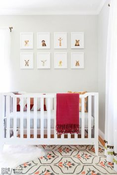 East Coast Creative Transformed A Nursery In Just 24 Hours Featuring An ATG  Stores Crib!