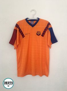f2b12253359 BARCELONA FC 1992 Away Football Shirt M L Soccer Jersey Vintage Maglia  Retro  BARCELONAofficialMerchandising
