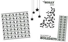 Holiday Overlays - Free from Creative Memories! Click through to the website to download.