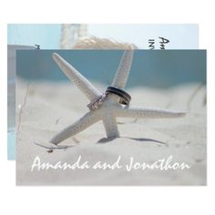 Beach Wedding Invitation with photo - wedding invitations cards custom invitation card design marriage party