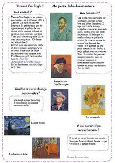 nurvero van Gogh fiche lecture