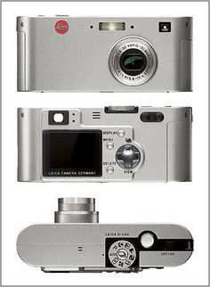 """The LEICA D-LUX is a digital compact camera from Leica Camera AG, Solms with a high-performance LEICA DC VARIO-ELMARIT f/2.8-4.9/5.8-17.4 mm ASPH. triple zoom lens. """"The LEICA D-LUX has been given a timeless design which will survive short-lived fashion trends. It also offers many possibilities of individualization,"""" says Roland Wolff, Product Manager of the Compact Cameras business unit at Leica Camera AG. The small and elegant LEICA D-LUX has a clear array of controls and is easy to use."""