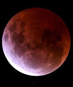 Total Lunar Eclipse, 4th April 2015, by Daniel Ryan
