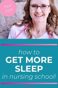 Keep yourself at the top of your game and ready to pass nursing school by getting enough sleep! What you can do to get more sleep as a nursing student. The top insider tips and nursing student hacks are here! Stay sharp and alert even during the overwhelming season of nursing school. Get more sleep during nursing school with these nursing student hacks. #NursingSchool #NursingStudent Nursing Classes, Nursing School Tips, Nursing Schools, Nursing Pins, Nursing Notes, Nursing School Motivation, Nursing Students, Student Nurse, Nclex Exam