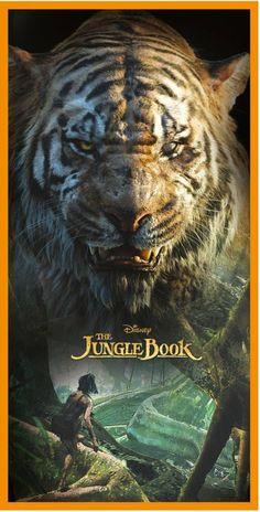 Jungle Book Shere Khan - Strandlaken - 70 x 140 cm - Multi