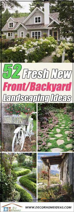 Easy Garden, Home And Garden, Garden Ideas, Patio Ideas, Backyard Ideas, Front Yard Landscaping, Landscaping Ideas, Backyard Patio, Front Yard Design