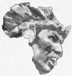 zulu warrior tattoos | Zulu Warrior Tattoos Zulu african tattoo designs.