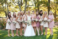 bridesmaid dress ideas - a friend's wedding