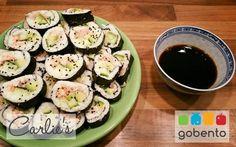 Sushi van bloemkool