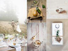 Romantic misty mountain wedding inspiration