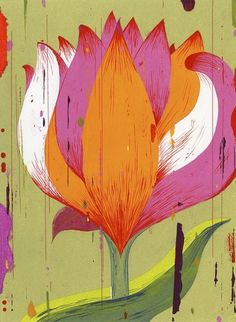 """""""Indian Flower"""" Painted by one of the world's finest and busiest contemporary artists, Brian Cronin was commissioned to paint this image for a book cover."""