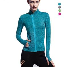 Long Sleeve Compression Quick Dry Breathable Shirts - 4 Colors #Womens-Tops