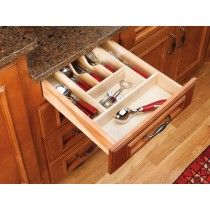 "Cutlery Tray Insert - 2-7/8"" depth Natural"