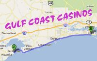 Situated within a couple hours drive of what is often referred to as the Redneck Riviera, the Mississippi Gulf Coast is also home to several Vegas Style Casinos. There are 11 casinos at the moment to choose from and more are in the planning stages. The Gulf Coast Casinos and Resorts are located up and down a...