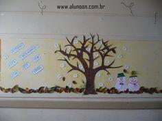 24 Ideias de Mural para Inverno - Educação Infantil - Aluno On Kindergarten, Home Decor, Winter Ideas, Students Day, World Water Day, Family Day, Manualidades, Murals, Sea Ice