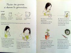 Echappés du bocal Pots, Journal, Planting Seeds, Sunflower Seeds, Jar, Botany, Journal Entries, Pottery, Journals