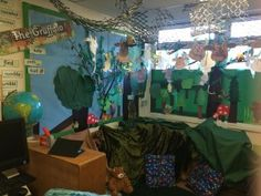 The Gruffalo's forest role play area