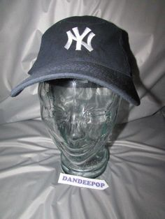 NY Yankees Logo Blue Con Ed Corporate Edge Hat Cap 67ced2c58a02