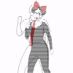 xavieralopez art dance loop illustration