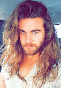 Brock O'Hurn long hair men pictures