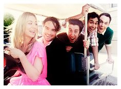 the big bang theory...love this cast <3 one of the few genuinely funny/clever sitcoms in a long time