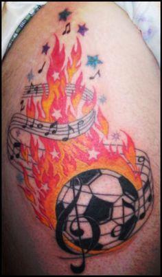 soccer tattoo designs | football tattoos design ideas Football Tattoo Designs For Football ...