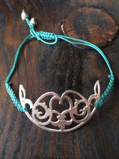 Sterling Silver Bracelet, Persian Carpet Collection Paisley Design, Persian Carpet, Sterling Silver Bracelets, Jewlery, Design Studios, Beautiful, Collection, Fashion, Moda