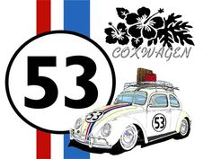 herbie Herbie Meu Fusca Turbinado, Cars Characters, Morris Minor, Car Illustration, Love Bugs, Vw Beetles, Vw Bus, Vintage Signs, Hot Wheels